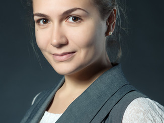 Портретная съемка для сайта.