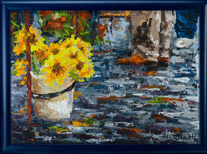 Sunflowers. Helsinki.