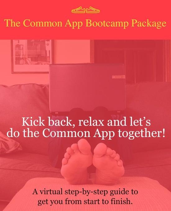 Virtual Common App Bootcamp