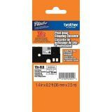 "Brother TZeCL6 36mm (1.4"") Cleaning Tape for P-touch - approx. 100 uses"