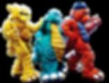 Rocko Gecko, Ty Rex & Bubba