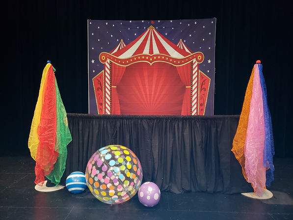 Circus Show Set | Intermission Productions