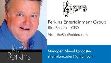 Rick Perkins Business Card