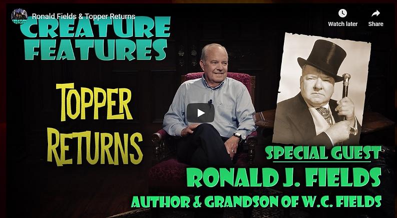 Ronald J. Fields Creatuare Features Gues