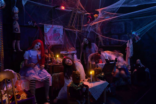 Haunted Houses Mascots shows entertainment custom puppets stage rental