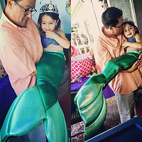 Child Mermaid Cosplay