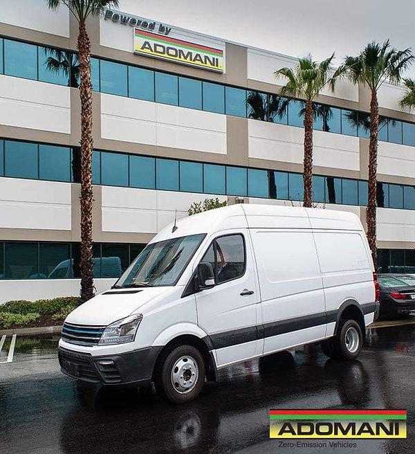 Adomani Electric Van Test Drive