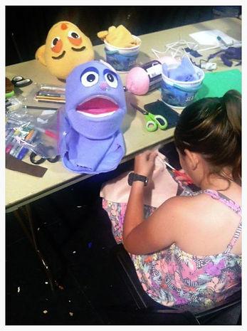Muppet Style Puppet Making Class 2015-4