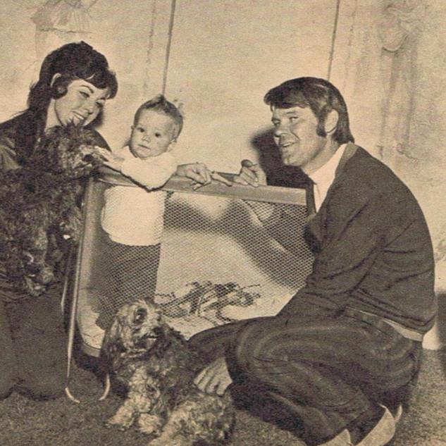 Billie Jean & Glen with Son