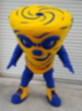 Sulpuur High School Tornado Mascot