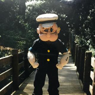 Popeye Mascot