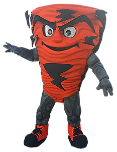 Tornado Mascot Orange High School