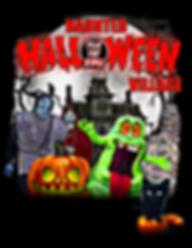 THe Hauned Halloween Village