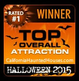 Rated #1 Top Haunted House - Intermission Productions 209-814-1994