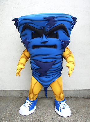 Tornado Mascot - Intermission Productions  209-814-1994