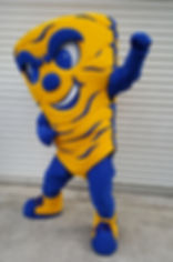 Sulphur High School Tornado Mascot