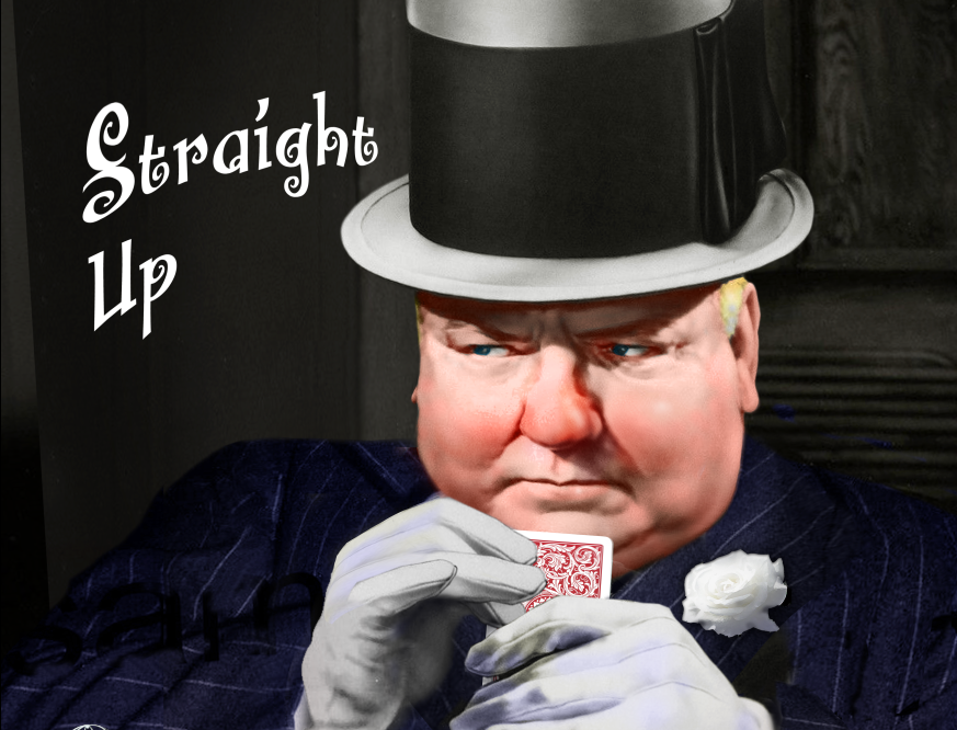 W.C. Fields - Straight Up - DVD (Autographed)