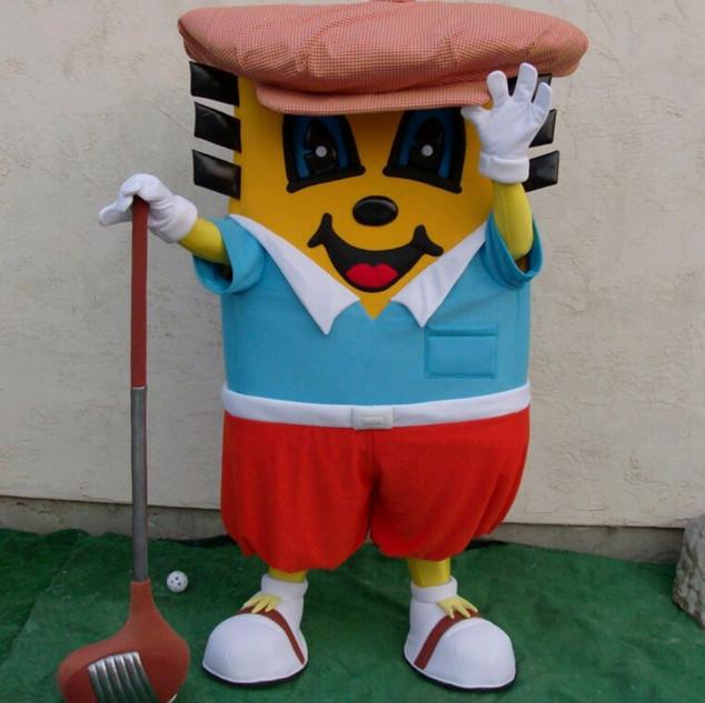 Golf Pro Charlie Chip