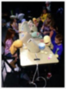 Muppet Style Puppet Making Class 2015 -2