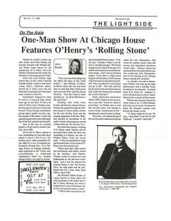 """Rolling Stone"" Praise"