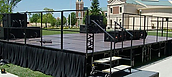 Stage Rental 12' by 16'