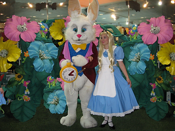 Easter Bunny and Allice