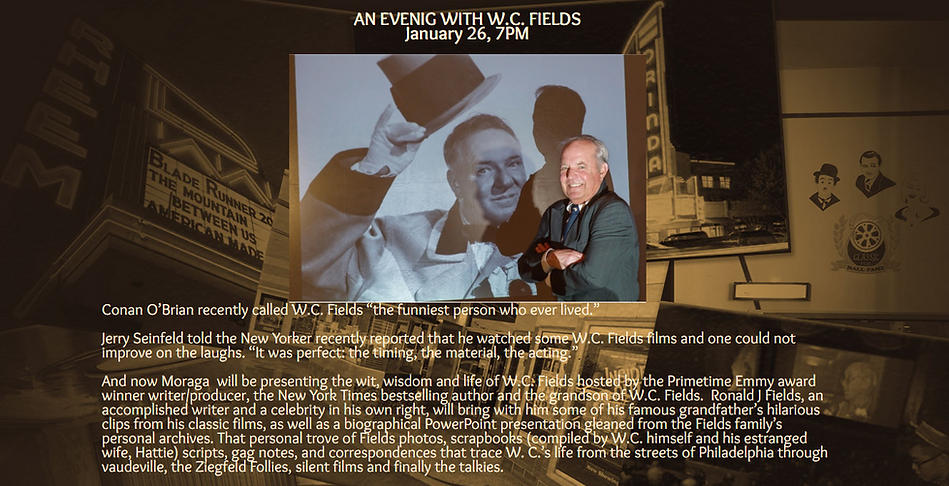 Rheem Theatre An Evening With WC Fields