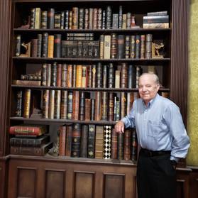 Ronald J. Fields Poulter Mansion Bookcas