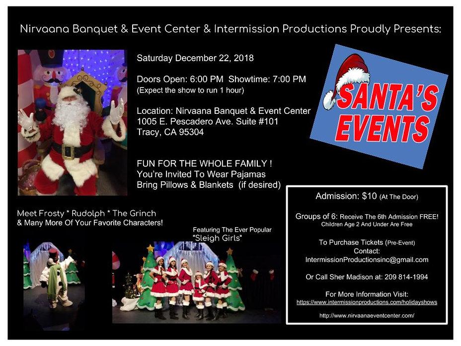 Santa's Events 2018