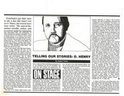 O. Henry Literacy Project