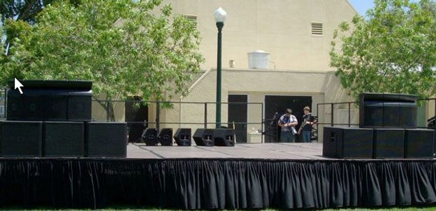 Stage Rentals