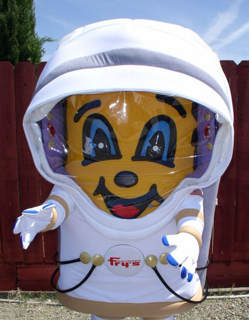 Astronaut Charlie Chip