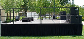 Stage Rental 6' by 24'