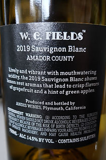 W.C. Fields Sauvignon Blanc Wine