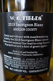 W.C. Fields Sauvignon Blanc Wine