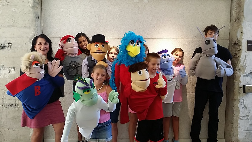 Muppet Style Puppet Making Workshop 2015