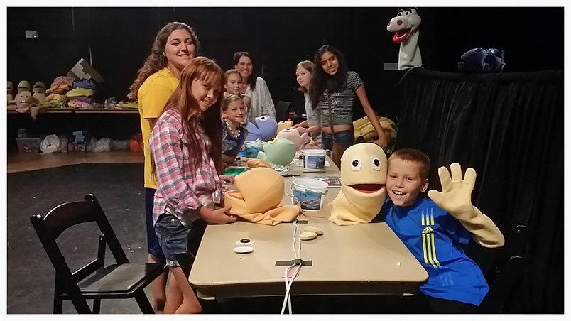 Muppet Style Puppet Making class 2015