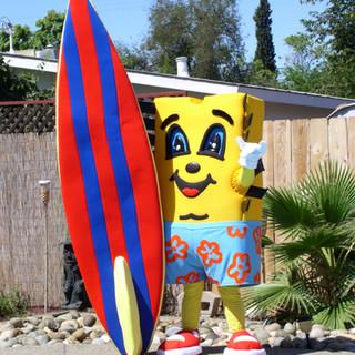 Surfer Charlie Chip