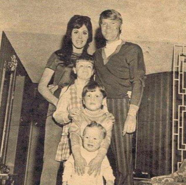 Glen & Billie Jean & children