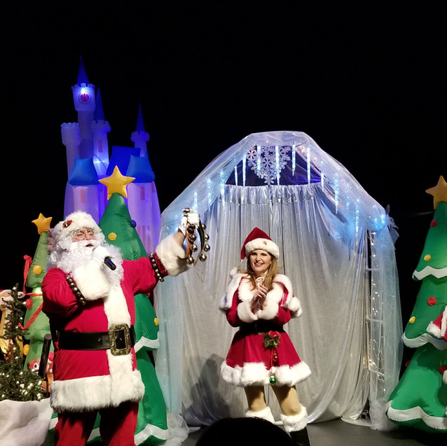 Santa | Mrs. Claus | Sleigh Girls
