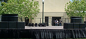 Stage Rental 6' by 16'