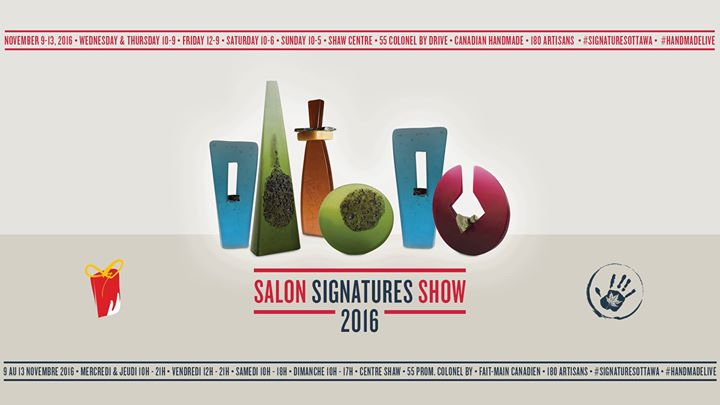 Salon Signatures Show Ottawa
