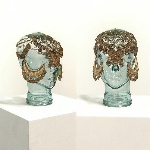 Odalisca Belly Dancer Headdress Mask