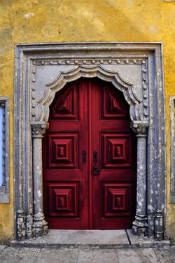 Red Door Portal - Sintra Portugal