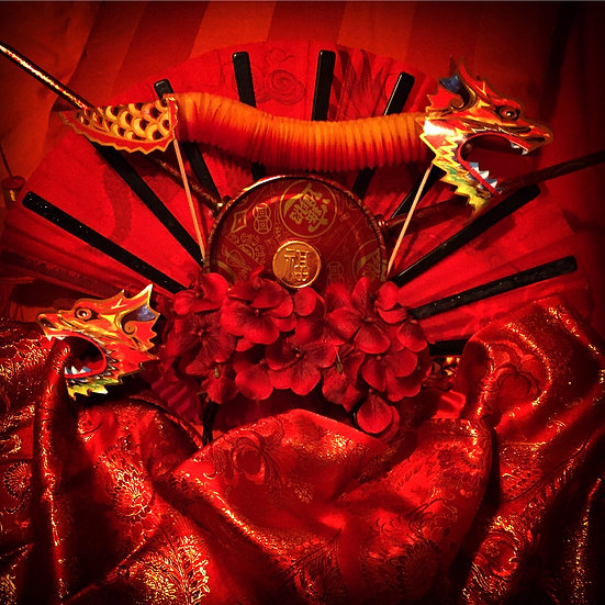 Chinese Dragon Headdress