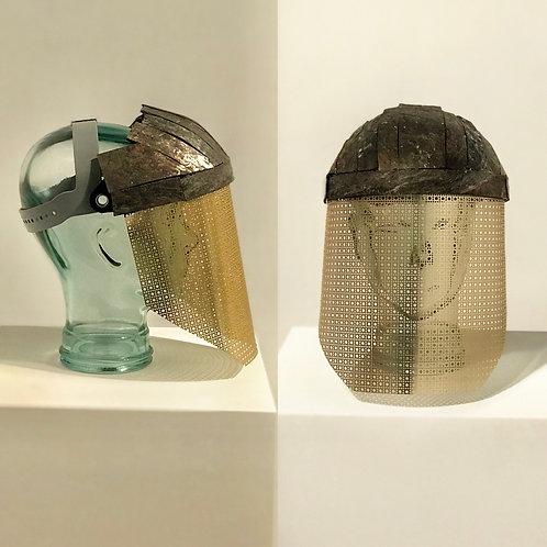 Stone Rock Tiled Visor Face Shield Mask