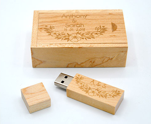 Wedding USB Gift Box