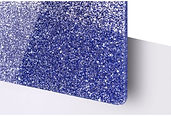 Blue Glitter Acrylic