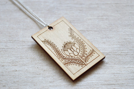 Plywood Pendant