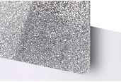 Silver Glitter Acrylic